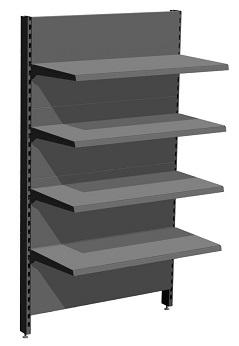Regał montowany do ściany SBM System